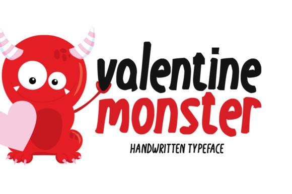Valentine Monster Font