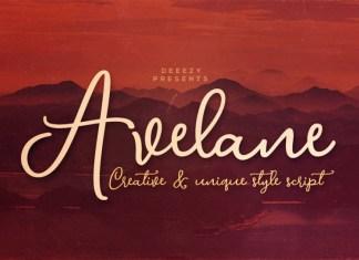 Avelane Font