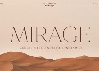 Mirage Serif Font