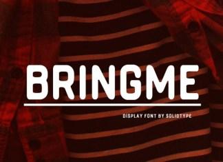 Bringme Font