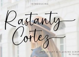Rastanty Cortez Font