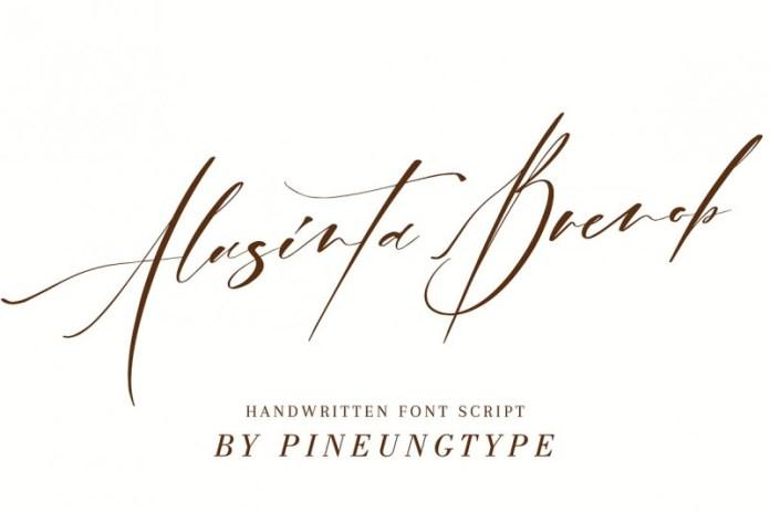 Alusinta Brenob Font