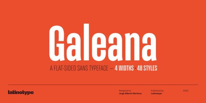 Galeana Font