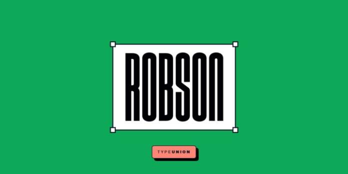 Robson Font