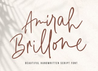 Amirah Brillone Font