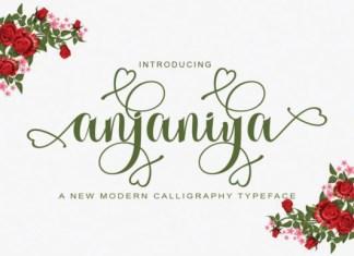Anjania Font