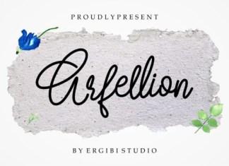 Arfellion Font