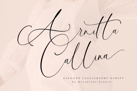 Arnitta Callina Font