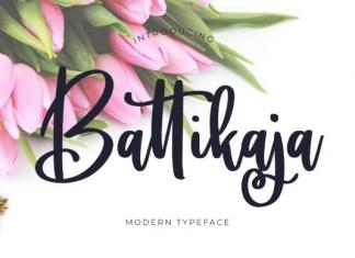 Battikaja Font