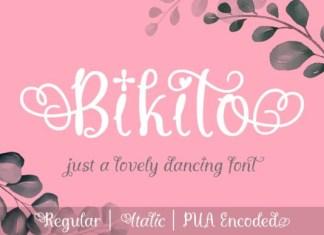 Bikito Font