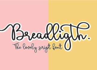 Bread Ligth Font
