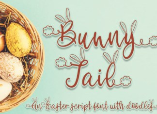 Bunny Tail Font