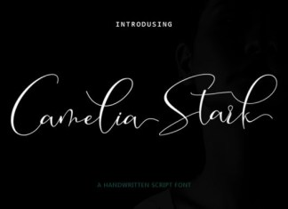 Camelia Stark Font