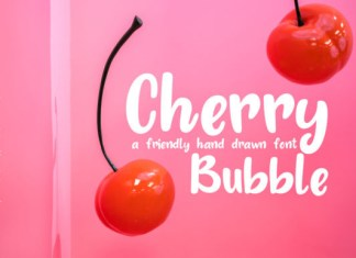 Cherry Bubble Font