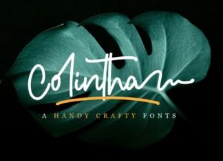 Colintha Font