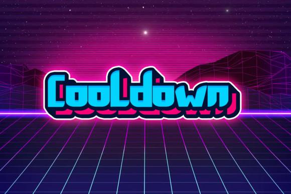 Cooldown Font