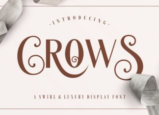 Crows Font
