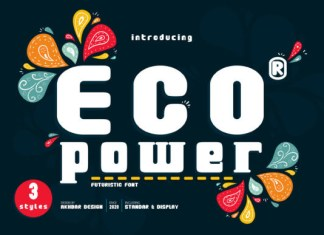 Eco Power Font