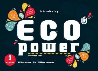Eco Power Font