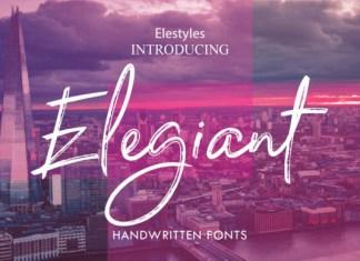 Elegiant Font
