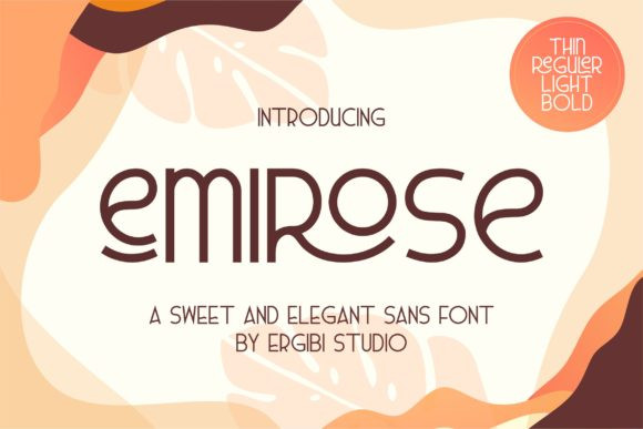 Emirose Font