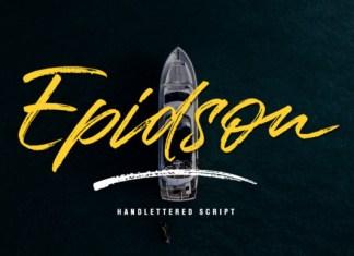 Epidson Font