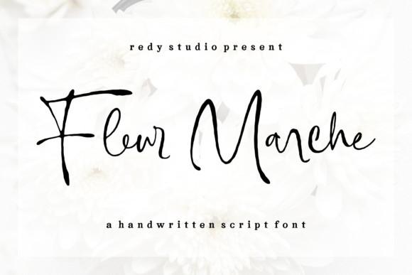 Fleur Marche Font