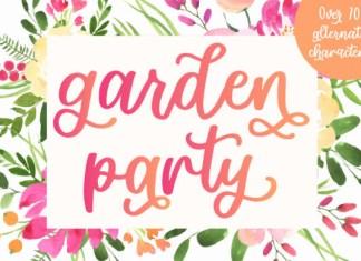 Garden Party Font