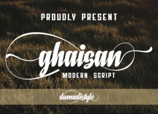 Ghaisan Font