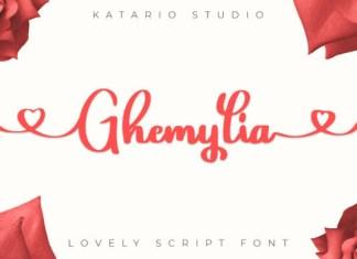 Ghemylia Font