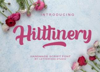 Hilttinery Font