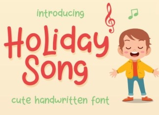 Holiday Song Font