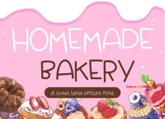 Homemade Bakery Font