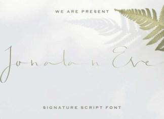 Jonatan Eve Font