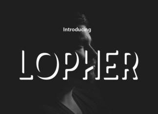Lopher Font
