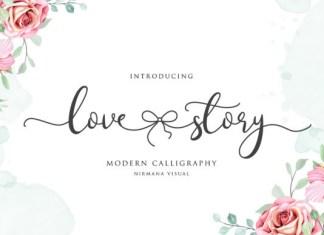 Lovestory Font