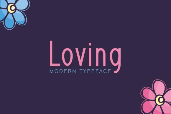 Loving Font