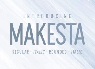 Makesta Font