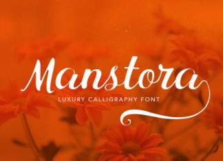 Manstora Font
