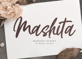 Mashita Font