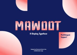 Mawoot Font