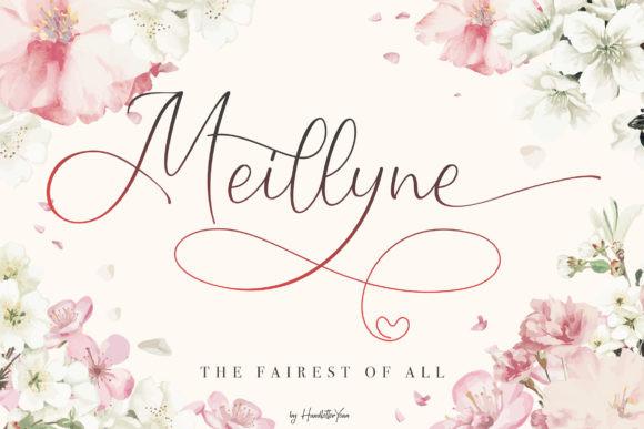 Meillyne Font