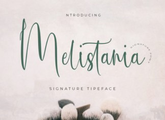 Melistania Font