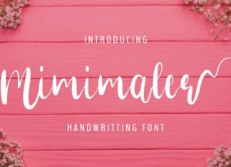 Minimaler Font