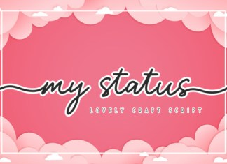 My Status Font