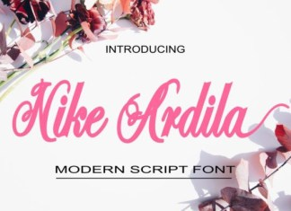 Nike Ardila Font