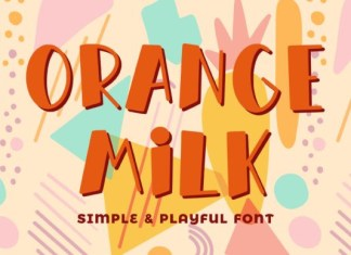Orange Milk Font