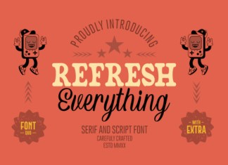Refresh Everything Font