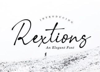 Rextions Font