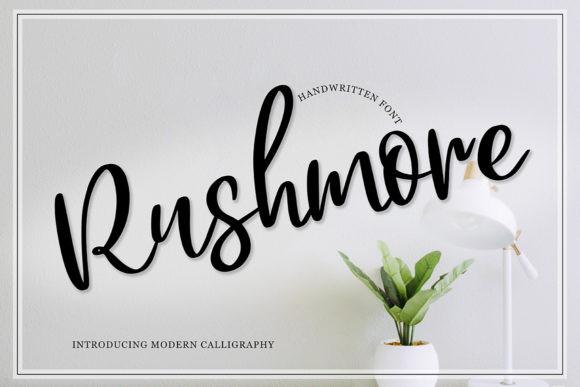 Rushmore Font
